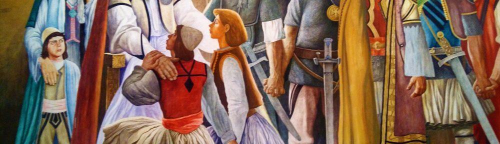 Kruja - výjav zo života Skanderbega